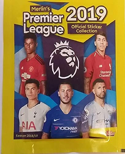 Premier League 2019 Topps (Full Booster Box) 50 Packs of Stickers