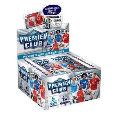 Topps Premier League Club Trading Cards 2016 (Full Box)