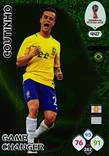 Panini Adrenalyn XL World cup 2018 Game Changer cars - 447 Coutinho