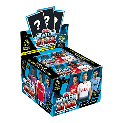 EPL Match Attax 2018/19 Trading Card Game (x50 Packs)