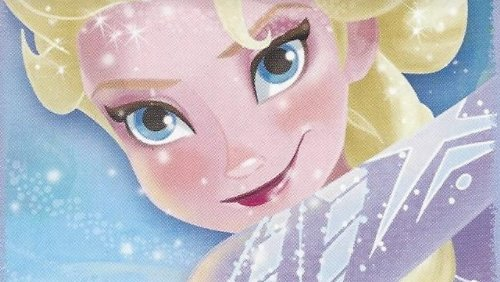 Disney Frozen Individual Elsa Face Sticker No.15