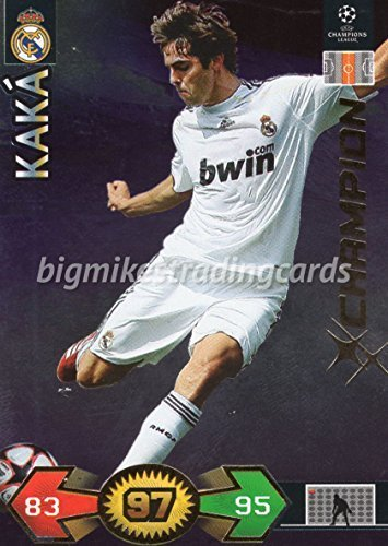 PANINI UEFA CHAMPIONS LEAGUE SUPER STRIKES 2009/10 KAKA CHAMPION TRADING CARD - REAL MADRID