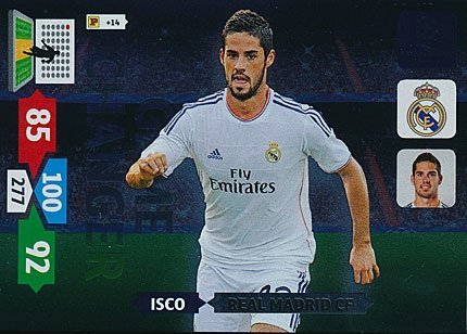 Champions League Adrenalyn XL 2013/2014 Isco 13/14 Game Changer