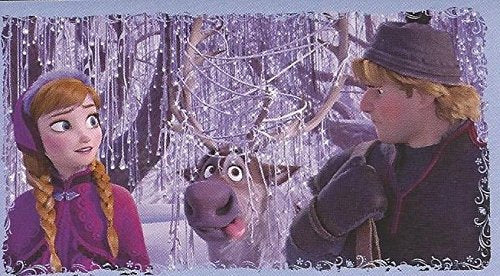 Disney Frozen Anna & Kristoff Individual Sticker No.A9