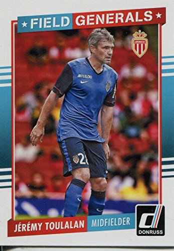 Donruss Soccer 2015 Field Generals Chase Card #7 Jeremy Toulalan