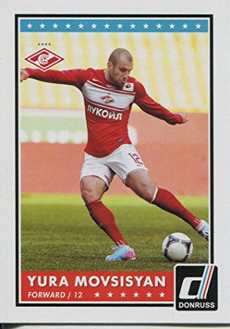 Donruss Soccer 2015 Base Card #88 Yura Movsisyan