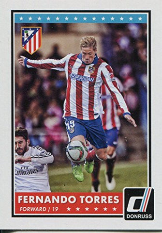 Donruss Soccer 2015 Base Card #28 Fernando Torres