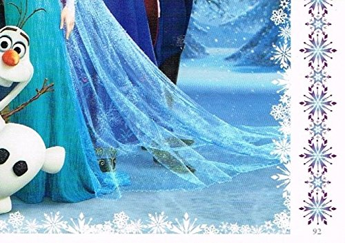Disney Frozen Puzzle Trading Card #92