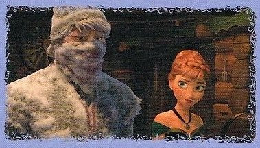 Disney Frozen Anna & Kristoff Individual Sticker No.76