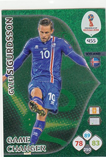 Adrenalyn XL Panini World Cup Russia 2018 Sigurdsson Game Changer