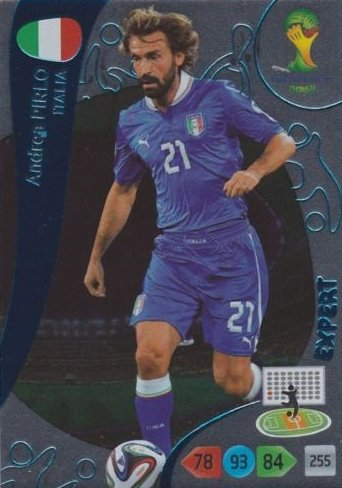 FIFA World Cup 2014 Brazil Adrenalyn XL Andrea Pirlo Expert