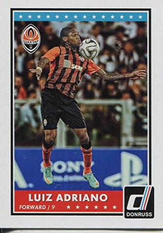 Donruss Soccer 2015 Base Card #22 Luiz Adriano