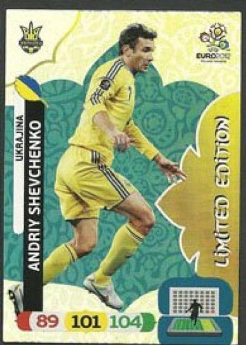 Euro 2012 Adrenalyn XL Andriy Shevchenko Limited Edition