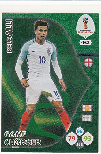 Adrenalyn XL Panini World Cup Russia 2018 Alli Game Changer