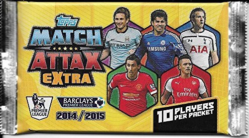 Match Attax Extra 2014/15 - Single Booster Pack (10 Cards)