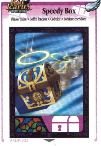 Kid Icarus Uprising AKDP 333 - Speedy Box Silver Wing Rare Card