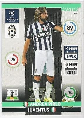 Champions League Adrenalyn XL 2014/2015 Andrea Pirlo 14/15 Master