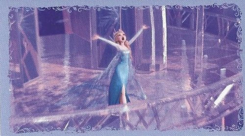 Disney Frozen Individual Elsa Icy Palace Sticker No.67