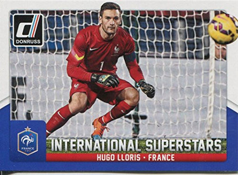 Donruss Soccer 2015 Int. Superstars Chase Card #20 Hugo Lloris