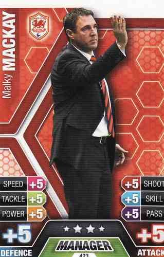 Match Attax 2013/2014 Malky Mackay Cardiff City 13/14 Manager