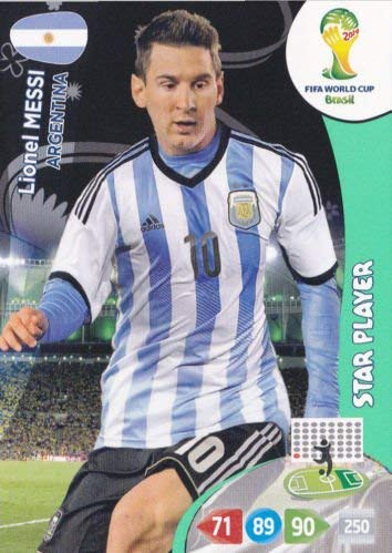 FIFA World Cup 2014 Brazil Adrenalyn XL Lionel Messi Star Player