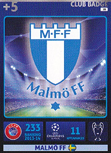 Champions League Adrenalyn XL 2014/2015 Malmo Club Badge 14/15