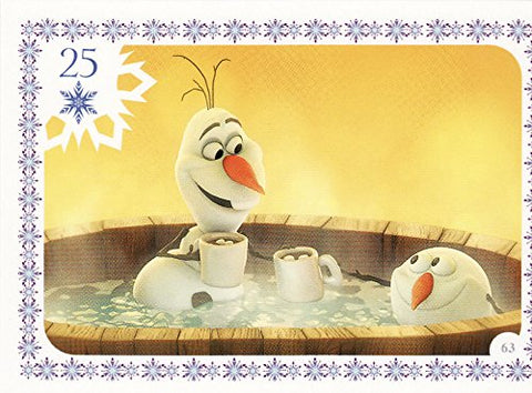 Disney Frozen Olf Movie Story Trading Card #63
