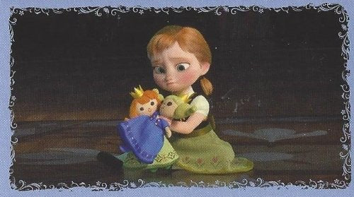 Disney Frozen Anna Individual Sticker No.29