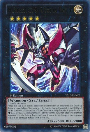 YuGiOh Number C39: Utopia Ray V YS13-ENV01 Ultra Rare [Toy]