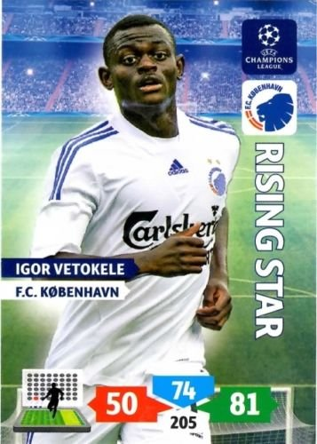 Champions League Adrenalyn XL 2013/2014 Igor Vetokele 13/14 Rising Star