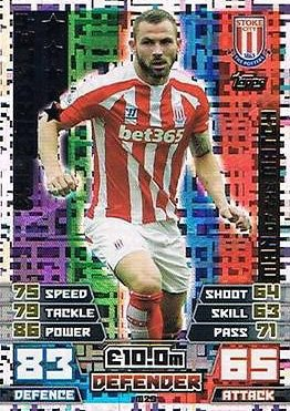 Match Attax Extra 2014/2015 Phil Bardsley (Stoke City) Man Of The Match 14/15
