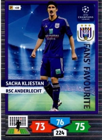 Champions League Adrenalyn XL 2013/2014 Sacha Kljestan 13/14 Fans Favourite