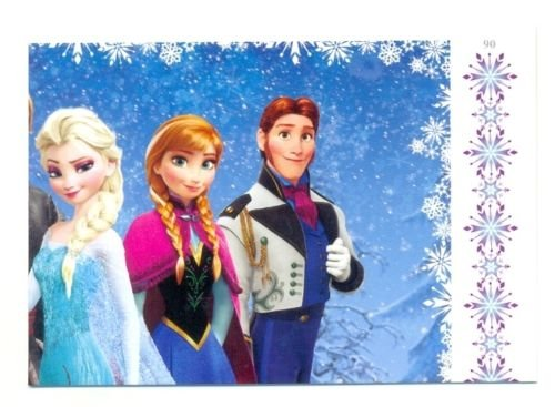 Disney Frozen Puzzle Trading Card #90