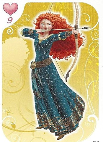 Disney Princess Glitter Card No.136