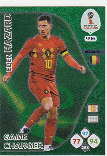 Adrenalyn XL Panini World Cup Russia 2018 Hazard Game Changer