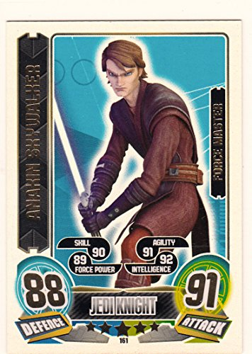 Star Wars Force Attax 5 Anakin Skywalker Force Master