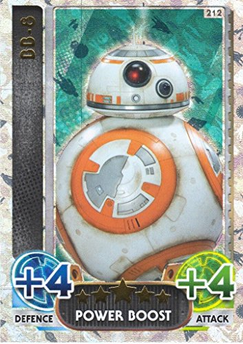 Disney Star Wars Force Attax The Force Awakens Limited Edition BB-8 Trading Card