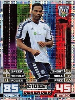 Match Attax 2014/2015 Joleon Lescott Man Of The Match 14/15