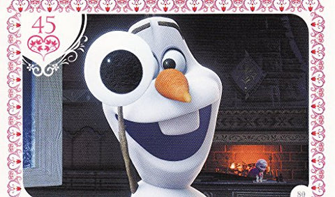 Disney Frozen Olf Movie Story Trading Card #80