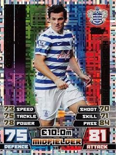 Match Attax 2014/2015 Joey Barton Man Of The Match 14/15
