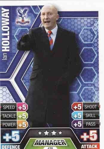 Match Attax 2013/2014 Ian Holloway Crystal Palace 13/14 Manager