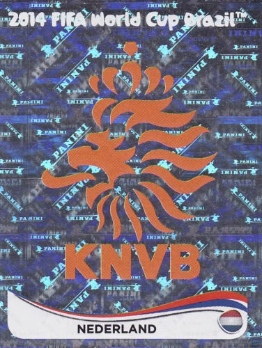 FIFA World Cup 2014 Netherlands Team Sticker No.128