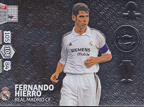 Champions League Adrenalyn XL 2014/2015 14/15 Fernando Hierro 2014 Legend