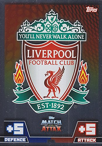 Champions League Adrenalyn XL 2014/2015 Liverpool Club Badge 14/15