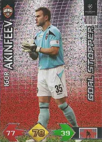 Champions League Super Strikes 09-10 STOPPER Akinfeev