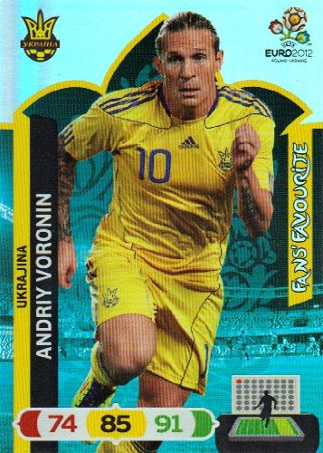 EURO 2012 Adrenalyn XL Fans Favourite Card - Andriy Voronin