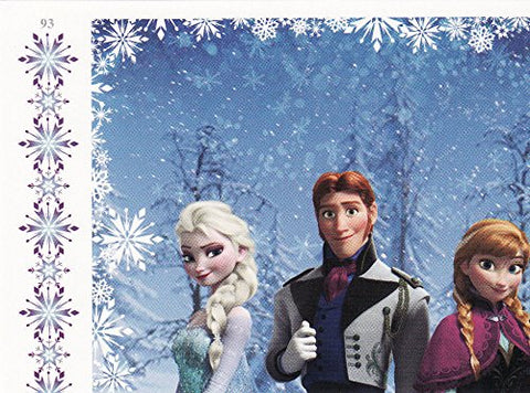 Disney Frozen Puzzle Trading Card #93