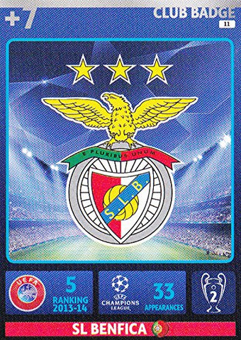 Champions League Adrenalyn XL 2014/2015 Atletico Madrid Club Badge 14/15