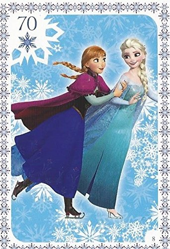 Disney Frozen Regular Character Elsa & Anna Trading Card #8