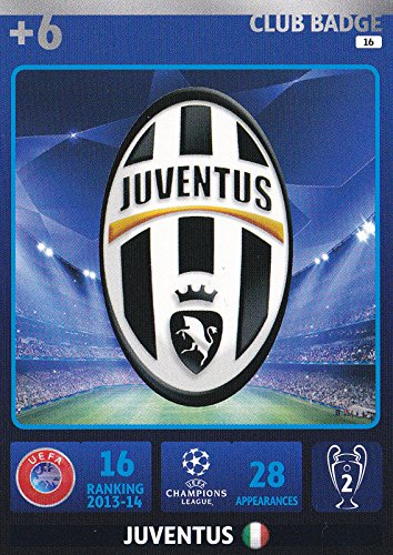 Champions League Adrenalyn XL 2014/2015 Juventus Club Badge 14/15